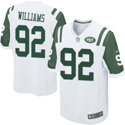 Game Men's Leonard Williams New York Jets Nike Jersey - White