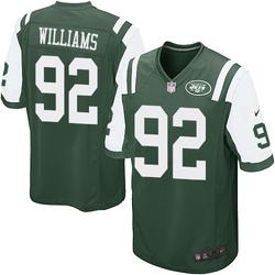 Game Men's Leonard Williams New York Jets Nike Team Color Jersey - Green