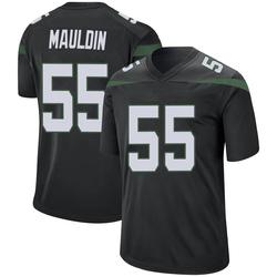 Game Men's Lorenzo Mauldin New York Jets Nike Jersey - Stealth Black