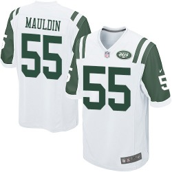 Game Men's Lorenzo Mauldin New York Jets Nike Jersey - White