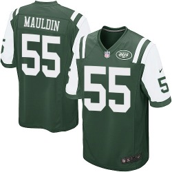Game Men's Lorenzo Mauldin New York Jets Nike Team Color Jersey - Green