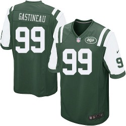 Game Men's Mark Gastineau New York Jets Nike Team Color Jersey - Green
