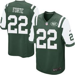 Game Men's Matt Forte New York Jets Nike Team Color Jersey - Green