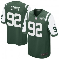 Game Men's MyQuon Stout New York Jets Nike Team Color Jersey - Green