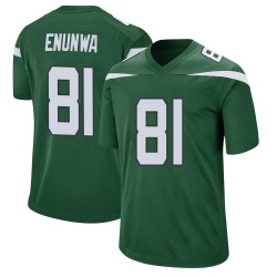 Game Men's Quincy Enunwa New York Jets Nike Jersey - Gotham Green