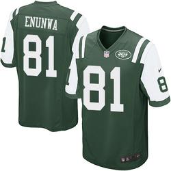 Game Men's Quincy Enunwa New York Jets Nike Team Color Jersey - Green