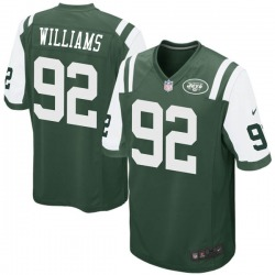 Game Men's Quinnen Williams New York Jets Nike Team Color Jersey - Green