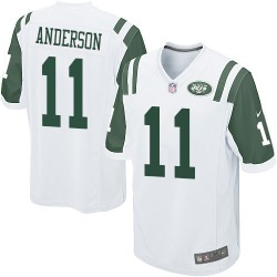 Game Men's Robby Anderson New York Jets Nike Jersey - White
