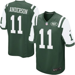 Game Men's Robby Anderson New York Jets Nike Team Color Jersey - Green