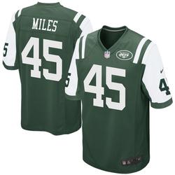 Game Men's Rontez Miles New York Jets Nike Team Color Jersey - Green