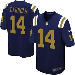 Game Men's Sam Darnold New York Jets Nike Alternate Jersey - Navy Blue