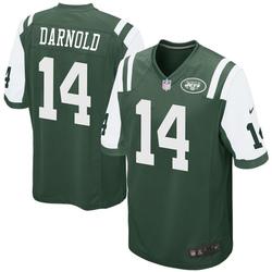 Game Men's Sam Darnold New York Jets Nike Team Color Jersey - Green