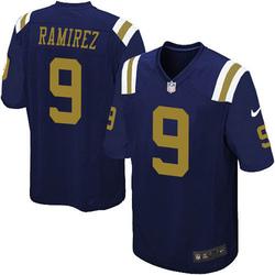 Game Men's Santos Ramirez New York Jets Nike Alternate Jersey - Navy Blue