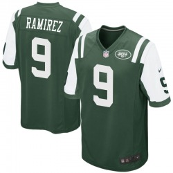 Game Men's Santos Ramirez New York Jets Nike Team Color Jersey - Green