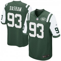 Game Men's Tarell Basham New York Jets Nike Team Color Jersey - Green