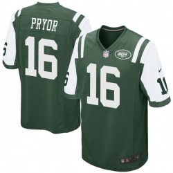 Game Men's Terrelle Pryor New York Jets Nike Team Color Jersey - Green