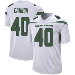 Game Men's Trenton Cannon New York Jets Nike Jersey - Spotlight White