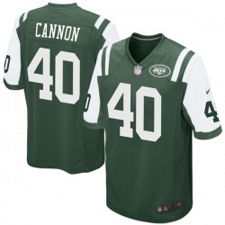 Game Men's Trenton Cannon New York Jets Nike Team Color Jersey - Green