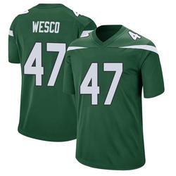 Game Men's Trevon Wesco New York Jets Nike Jersey - Gotham Green