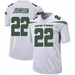 Game Men's Trumaine Johnson New York Jets Nike Jersey - Spotlight White