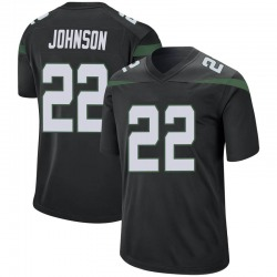 Game Men's Trumaine Johnson New York Jets Nike Jersey - Stealth Black