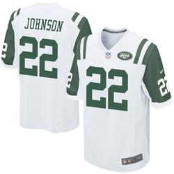 Game Men's Trumaine Johnson New York Jets Nike Jersey - White