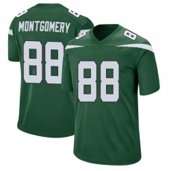 Game Men's Ty Montgomery New York Jets Nike Jersey - Gotham Green