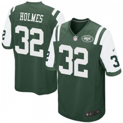Game Men's Valentine Holmes New York Jets Nike Team Color Jersey - Green