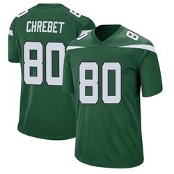 Game Men's Wayne Chrebet New York Jets Nike Jersey - Gotham Green