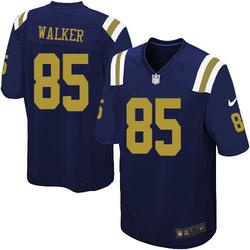 Game Men's Wesley Walker New York Jets Nike Alternate Jersey - Navy Blue