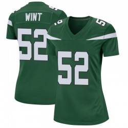 Game Women's Anthony Wint New York Jets Nike Jersey - Gotham Green