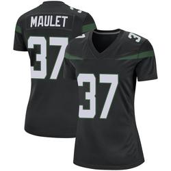 Game Women's Arthur Maulet New York Jets Nike Jersey - Stealth Black