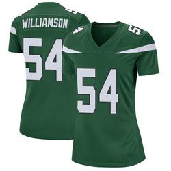 Game Women's Avery Williamson New York Jets Nike Jersey - Gotham Green