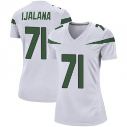 Game Women's Ben Ijalana New York Jets Nike Jersey - Spotlight White
