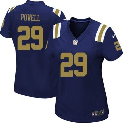 Game Women's Bilal Powell New York Jets Nike Alternate Jersey - Navy Blue