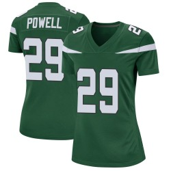 Game Women's Bilal Powell New York Jets Nike Jersey - Gotham Green