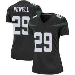 Game Women's Bilal Powell New York Jets Nike Jersey - Stealth Black