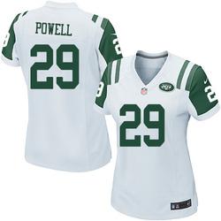 Game Women's Bilal Powell New York Jets Nike Jersey - White