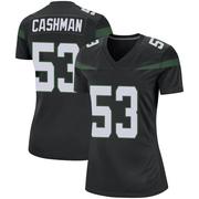 Game Women's Blake Cashman New York Jets Nike Jersey - Stealth Black