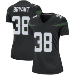Game Women's Brandon Bryant New York Jets Nike Jersey - Stealth Black