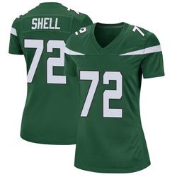 Game Women's Brandon Shell New York Jets Nike Jersey - Gotham Green