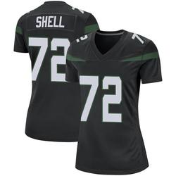 Game Women's Brandon Shell New York Jets Nike Jersey - Stealth Black