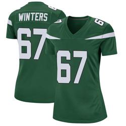Game Women's Brian Winters New York Jets Nike Jersey - Gotham Green