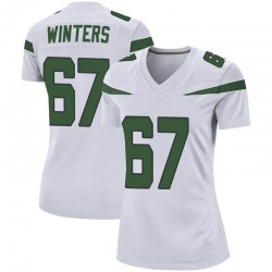 Game Women's Brian Winters New York Jets Nike Jersey - Spotlight White