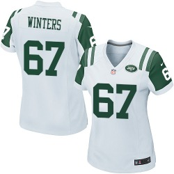 Game Women's Brian Winters New York Jets Nike Jersey - White