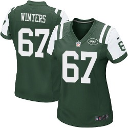 Game Women's Brian Winters New York Jets Nike Team Color Jersey - Green