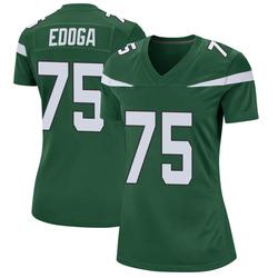 Game Women's Chuma Edoga New York Jets Nike Jersey - Gotham Green