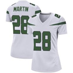 Game Women's Curtis Martin New York Jets Nike Jersey - Spotlight White