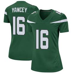 Game Women's DeAngelo Yancey New York Jets Nike Jersey - Gotham Green