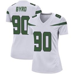 Game Women's Dennis Byrd New York Jets Nike Jersey - Spotlight White